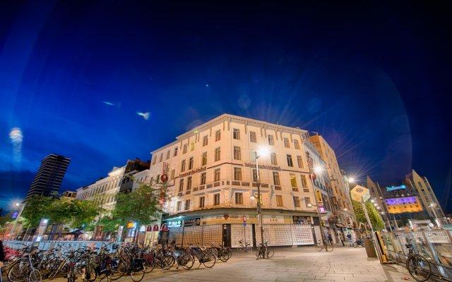 Отель Leonardo Hotel Antwerpen (ex Florida) Бельгия, Антверпен - 2 отзыва об отеле, цены и фото номеров - забронировать отель Leonardo Hotel Antwerpen (ex Florida) онлайн вид на фасад