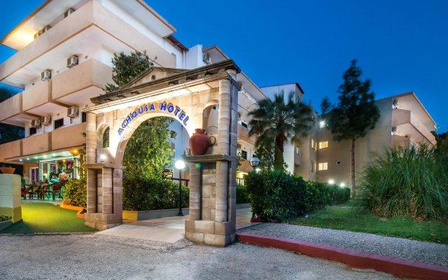 Achousa Hotel вид на фасад