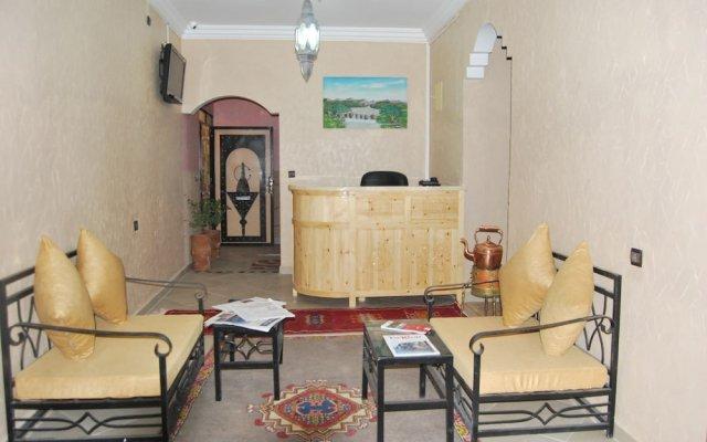 Отель Résidence Marwa Марокко, Уарзазат - отзывы, цены и фото номеров - забронировать отель Résidence Marwa онлайн вид на фасад
