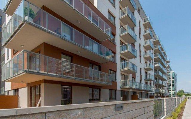 Апартаменты P&o Apartments MokotÓw вид на фасад