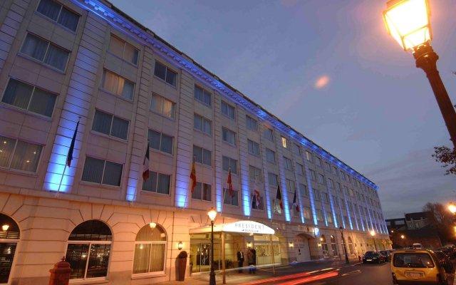 Отель Husa President Park вид на фасад