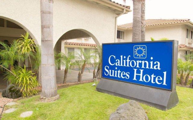 Отель California Suites Hotel США, Сан-Диего - отзывы, цены и фото номеров - забронировать отель California Suites Hotel онлайн вид на фасад