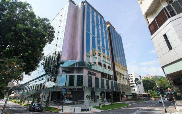 Отель Chancellor@Orchard Сингапур, Сингапур - отзывы, цены и фото номеров - забронировать отель Chancellor@Orchard онлайн вид на фасад