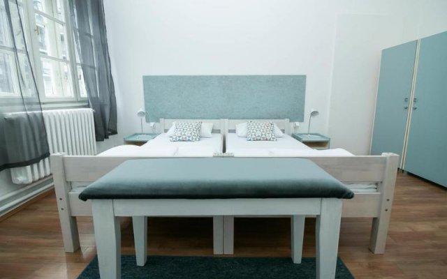Belgrade Modern Hostel комната для гостей