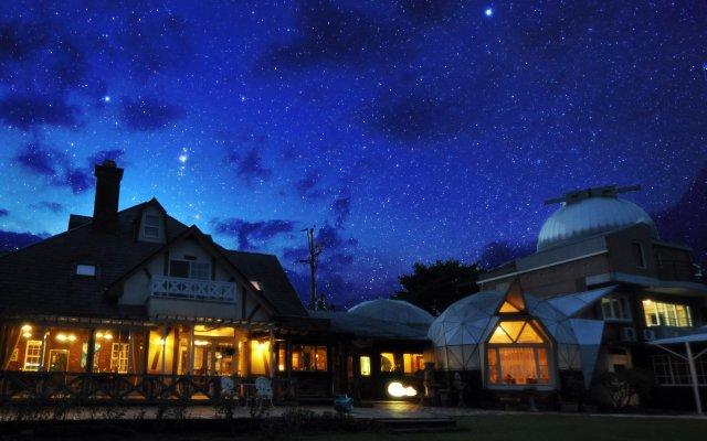 Отель Luna Observatory Auberge Mori No Atelier Минамиогуни вид на фасад