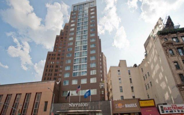 Отель Sheraton Tribeca New York Hotel США, Нью-Йорк - 1 отзыв об отеле, цены и фото номеров - забронировать отель Sheraton Tribeca New York Hotel онлайн вид на фасад