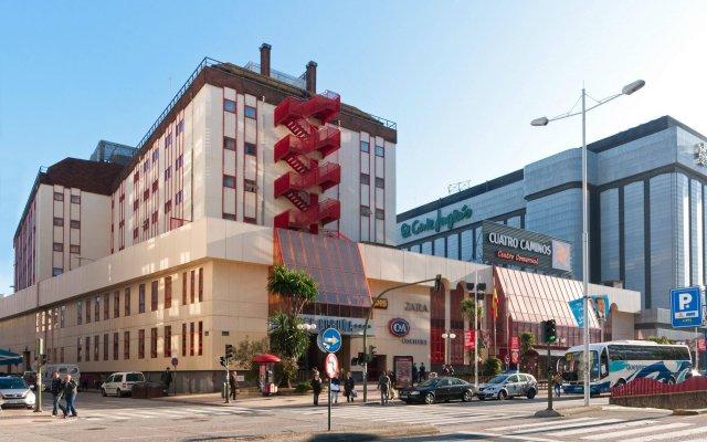 TRYP Coruña Hotel вид на фасад