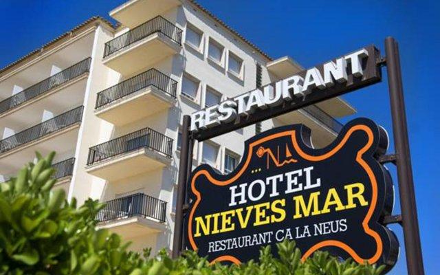 Отель RVHotels Nieves Mar вид на фасад