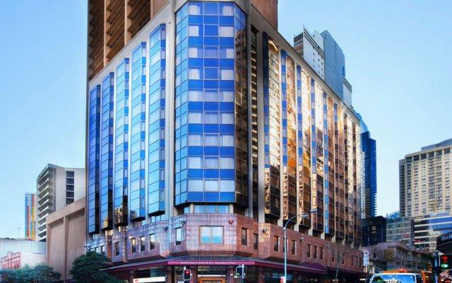 Metro Hotel Marlow Sydney Central вид на фасад