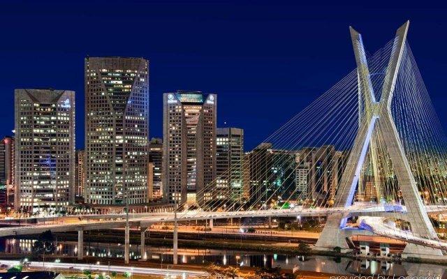 Отель Hilton Sao Paulo Morumbi вид на фасад
