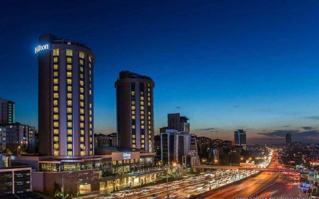 Отель Hilton Istanbul Kozyatagi вид на фасад