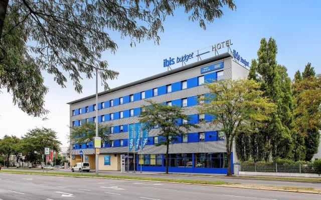 Отель Ibis budget Wien Sankt Marx Австрия, Вена - 2 отзыва об отеле, цены и фото номеров - забронировать отель Ibis budget Wien Sankt Marx онлайн вид на фасад