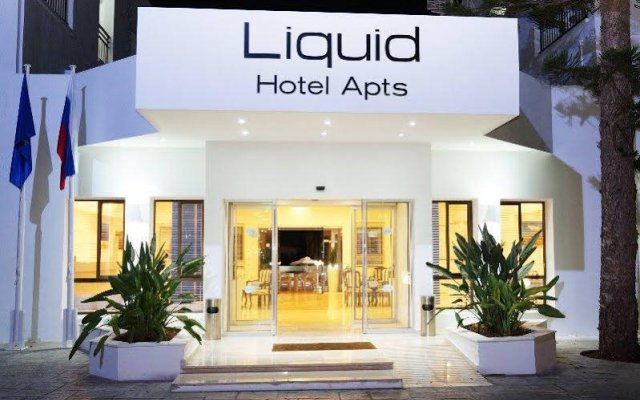 Liquid Hotel Apartments вид на фасад