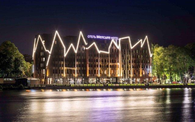 Отель Mercure Kaliningrad Калининград вид на фасад