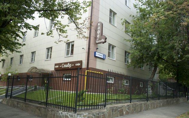 Отель Сокольники Москва вид на фасад