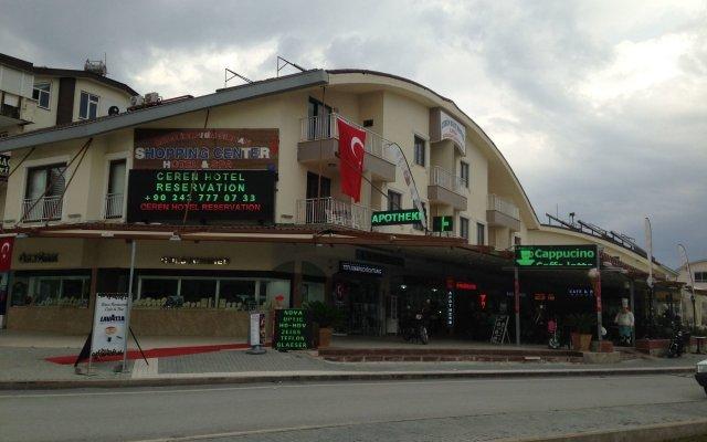 Ceren Family Suit Hotel Сиде вид на фасад