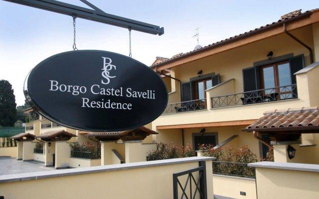Отель Borgo Castel Savelli Италия, Гроттаферрата - отзывы, цены и фото номеров - забронировать отель Borgo Castel Savelli онлайн вид на фасад
