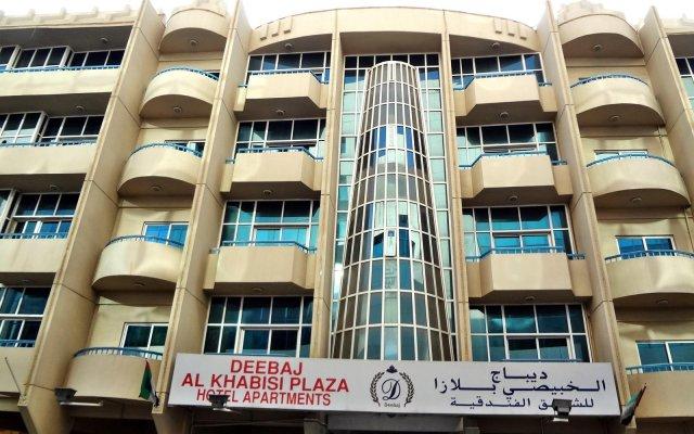 Deebaj Al Khabisi Plaza Hotel вид на фасад