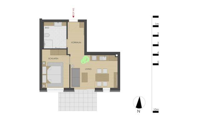 Отель Echt Woods Appartements Австрия, Зёлль - отзывы, цены и фото номеров - забронировать отель Echt Woods Appartements онлайн вид на фасад