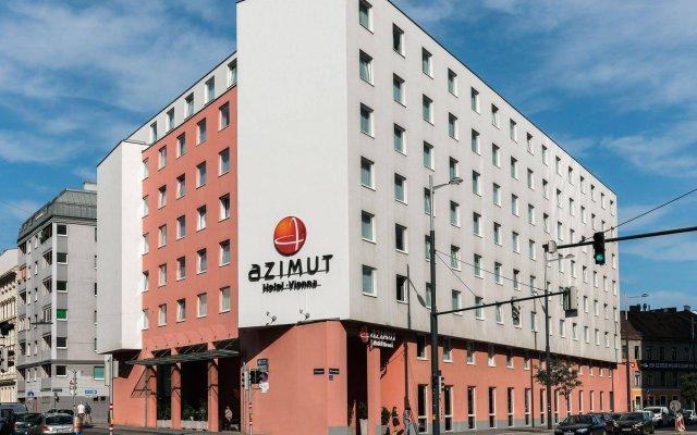 AZIMUT Hotel Vienna вид на фасад