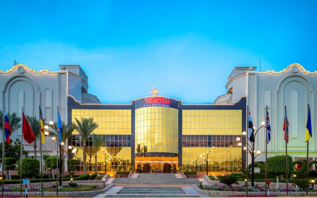 Отель Hawaii Riviera Aqua Park Resort вид на фасад