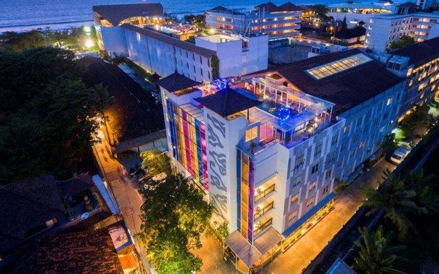Отель Best Western Kuta Beach вид на фасад