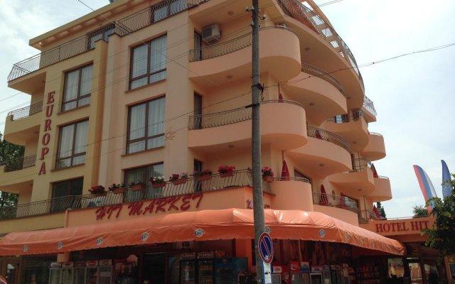 Hotel Hit вид на фасад