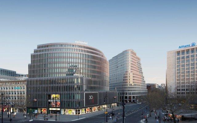 Отель Swissôtel Berlin Германия, Берлин - 2 отзыва об отеле, цены и фото номеров - забронировать отель Swissôtel Berlin онлайн вид на фасад