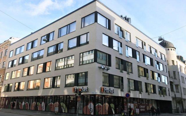 Апартаменты Helsinki Homes Apartments Хельсинки вид на фасад