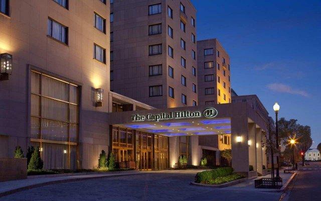 Отель The Capital Hilton США, Вашингтон - отзывы, цены и фото номеров - забронировать отель The Capital Hilton онлайн вид на фасад