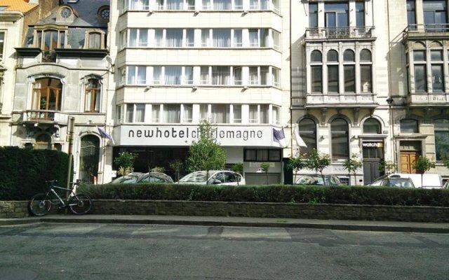 New Hotel Charlemagne Брюссель вид на фасад