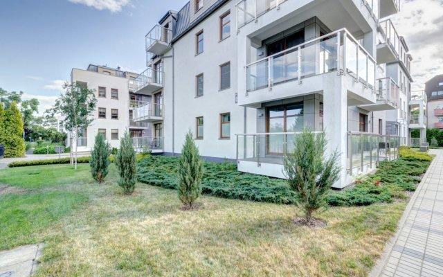 Апартаменты Dom & House - Apartments Sopocka Przystan Сопот вид на фасад