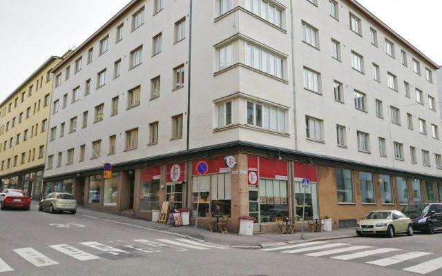 Апартаменты Unilla Pursimies вид на фасад