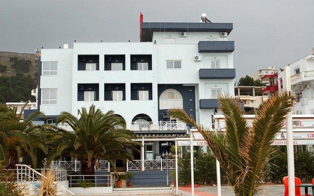 Отель Grand Saranda Албания, Саранда - отзывы, цены и фото номеров - забронировать отель Grand Saranda онлайн вид на фасад