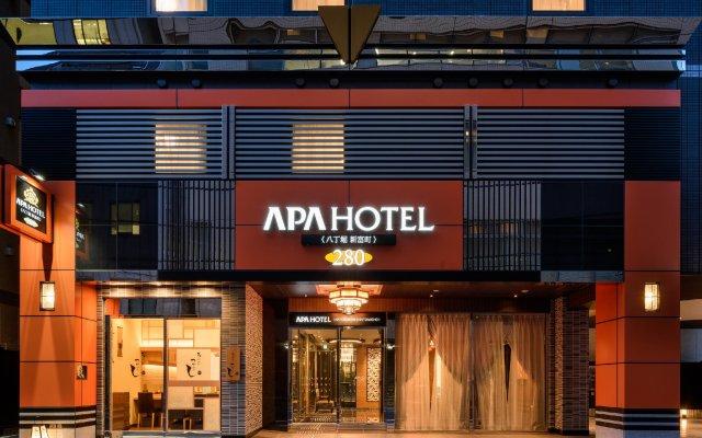 APA Hotel Hatchobori Shintomicho вид на фасад