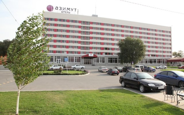 Азимут Отель Астрахань парковка