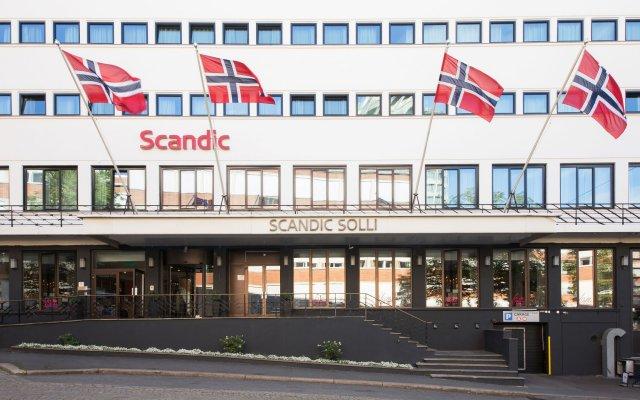 Отель Scandic Solli Oslo вид на фасад