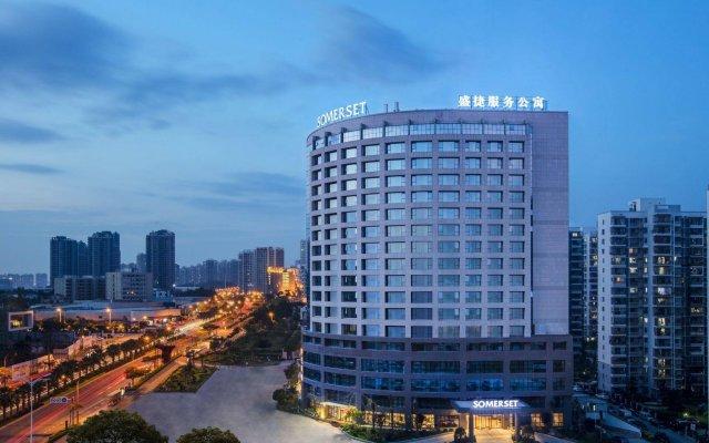 Отель Somerset Software Park Xiamen Китай, Сямынь - отзывы, цены и фото номеров - забронировать отель Somerset Software Park Xiamen онлайн вид на фасад
