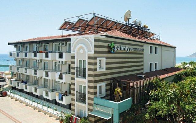 Palmiye Beach Hotel вид на фасад
