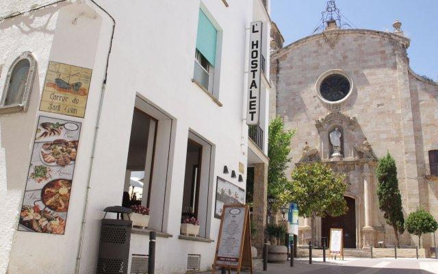 Отель l'Hostalet de Tossa вид на фасад