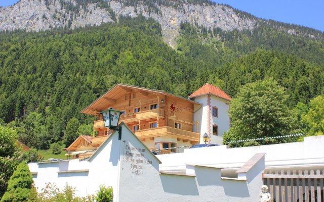 Отель Landhaus Ager вид на фасад