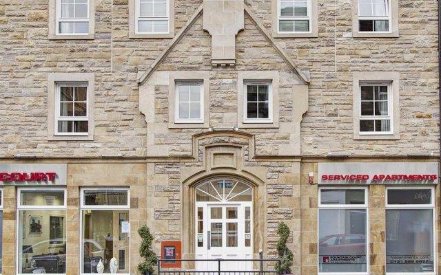 Отель Fountain Court Apartments - Grove Executive Великобритания, Эдинбург - отзывы, цены и фото номеров - забронировать отель Fountain Court Apartments - Grove Executive онлайн вид на фасад