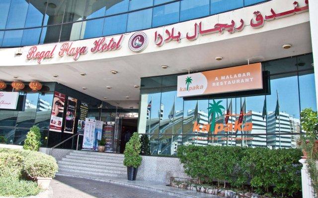 Отель Regal Plaza Hotel ОАЭ, Дубай - 2 отзыва об отеле, цены и фото номеров - забронировать отель Regal Plaza Hotel онлайн вид на фасад