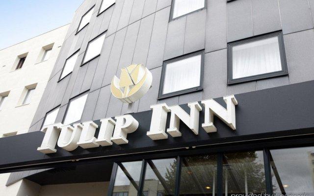 Отель Tulip Inn Antwerpen Антверпен вид на фасад