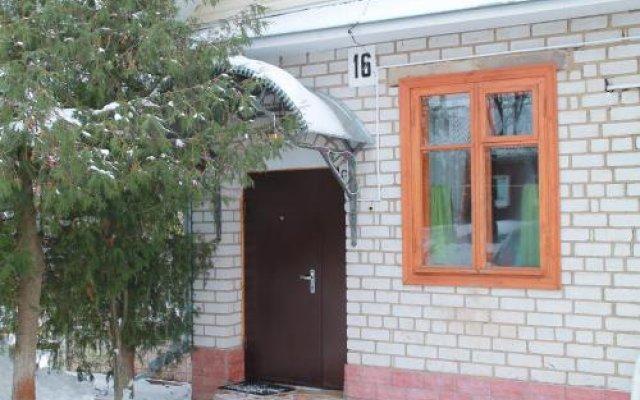 Гостиница Надежда вид на фасад