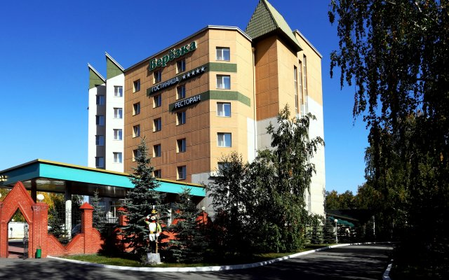 Гостиница Березка вид на фасад