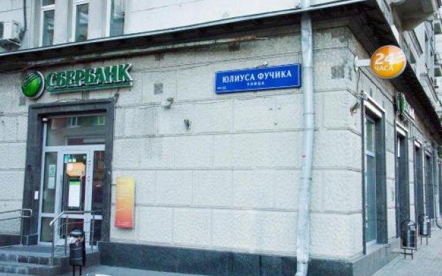Отель Меблированные Комнаты на Маяковской Москва вид на фасад