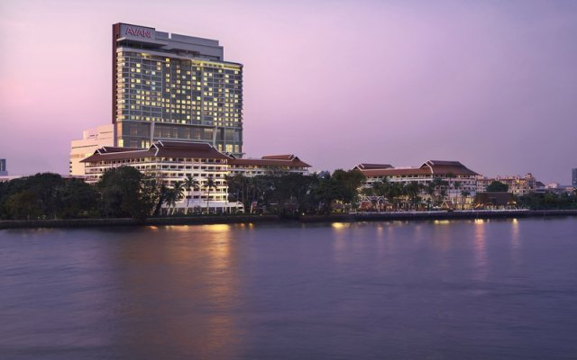 Отель Anantara Riverside Bangkok Resort Таиланд, Бангкок - отзывы, цены и фото номеров - забронировать отель Anantara Riverside Bangkok Resort онлайн вид на фасад