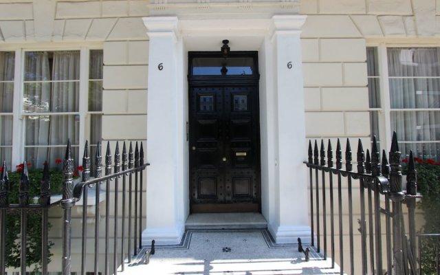 Апартаменты Lancaster Gate Apartments Лондон вид на фасад