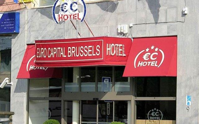 Отель Euro Capital Brussels Бельгия, Брюссель - 2 отзыва об отеле, цены и фото номеров - забронировать отель Euro Capital Brussels онлайн вид на фасад